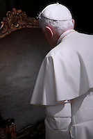 Pope Benedict XVI, General audience,Summer residence of Castelgandolfo . August 31, 2011