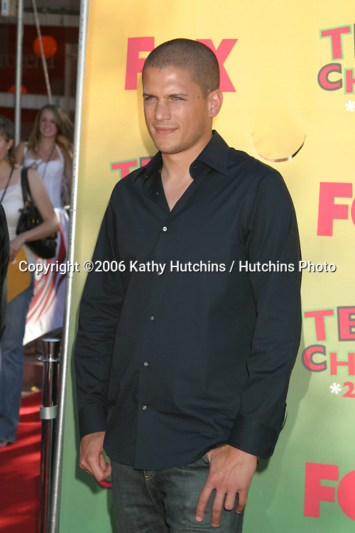 Wentworth Miller.Teen Choice Awards 2006.Los Angeles, CA.August 20, 2006.©2006 Kathy Hutchins / Hutchins Photo....