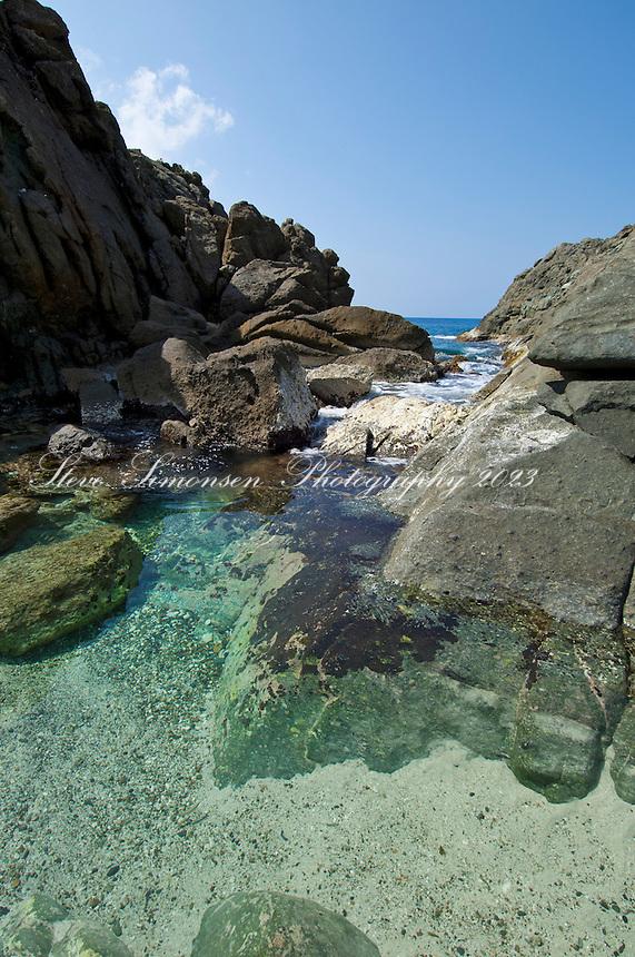 The Jacuzzi (Bubbling Pool)<br />  Jost van Dyke<br /> British Virgin Islands