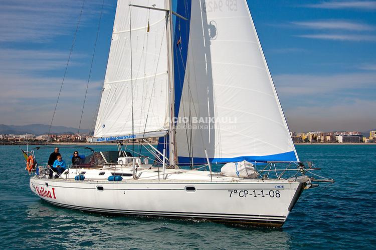 II Regata del Golfo - 25-26/febrero/2012 Real Club Náuticos de Valencia, CN Canet d'En Berenguer, CN Port Saplaya, CN Pobla Marina y la Marina Real Juan Carlos I