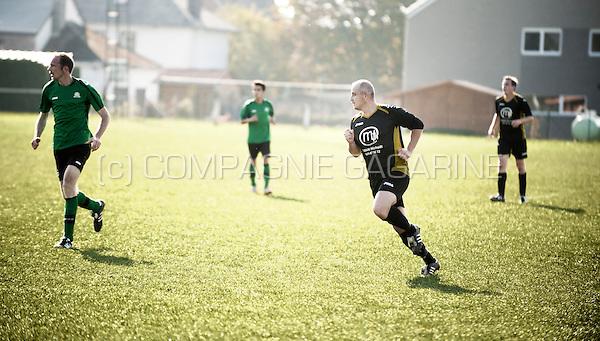 Provincial division football player Cedric Fonder (Belgium, 11/10/2015)