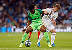 Real Madrid CF's Luka Modric and CD Leganes's Kenneth Omeruo during La Liga match. Oct 30, 2019. (ALTERPHOTOS/Manu R.B.)