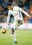 Real Madrid's James Rodriguez during La Liga match. March 1,2017. (ALTERPHOTOS/Acero)