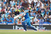 Virat Kolli (India) drives through point during India vs Australia, ICC World Cup Cricket at The Oval on 9th June 2019