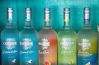 Cruzan Rum Bottles<br />