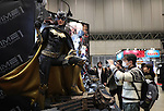 February 19, 2017, Chiba, Japan - Japan's toy maker Prime1Studio displays figure of Batwoman at the Wonder Festival 2017 Winter in Chiba, suburban Tokyo on Sunday, February 19, 2017. Tens of thousands people visited one-day garage kits and plastic -models trade show hosted by Osaka based toy maker Kaiyodo.    (Photo by Yoshio Tsunoda/AFLO) LwX -ytd-
