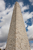 The Bennington Battle Monument, commemating the Battle of Bennington, is the tallest structure in Vermont