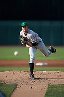 Clinton LumberKings starting pitcher Tim Viehoff (36) delivers a pitch during a game against the West Michigan Whitecaps on May 3, 2017 at Fifth Third Ballpark in Comstock Park, Michigan.  West Michigan defeated Clinton 3-2.  (Mike Janes/Four Seam Images)