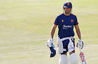 Sir Alastair Cook of Essex warms up prior to Essex CCC vs Kent CCC, Bob Willis Trophy Cricket at The Cloudfm County Ground on 2nd August 2020