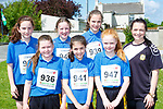 Jennifer Culloty, Elaine Cronin, Jessica O'Loughlin, Aoife Fleming, Julia Curtin, Doireann and Roisin Daly who participated in the Currow Reader to 3k run on Friday