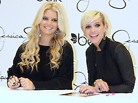 A Pregnant Jessica Simpson &amp; Sister<br /> Ashlee Appear At A Belk Store In<br /> Raleigh North Carolina USA on November<br /> 5,2011 To Meet And Greet Fans. <br /> By Jonathan Green Jessica Simpson And Sister Ashlee Simpson Raleigh North Carolina USA<br /> Nov 5,2011 By Jonathan Green