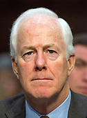 United States Senate Majority Whip John Cornyn (Republican of Texas) testifies before the United States Senate Committee on Commerce, Science, and Transportation on the nominations four individuals to be commissioners of the Federal Trade Commission (FTC) on Capitol Hill in Washington, DC on Wednesday, February 14, 2018.<br /> Credit: Ron Sachs / CNP