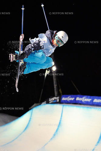 Manami Mitsuboshi (JPN), DECEMBER 20, 2013 - Freestyle Skiing : Manami Mitsuboshi of Japan competes during the Freestyle FIS World Cup Women's Halfpipe final in Copper Mountain Colorado, United States. (Photo by Hiroyuki Sato/AFLO)