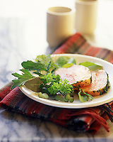 Europe/Grande-Bretagne/Ecosse/Highland/Nairn : Saumon auc herbes et au safran - Recette de Charles Lockley