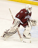 Laura Bellamy (Harvard - 1) - The Boston College Eagles defeated the visiting Harvard University Crimson 6-2 on Sunday, December 5, 2010, at Conte Forum in Chestnut Hill, Massachusetts.