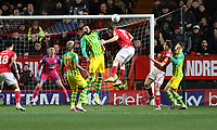 second goal scored for Charlton Athletic by Tom Lockyer of Charlton Athletic during Charlton Athletic vs West Bromwich Albion, Sky Bet EFL Championship Football at The Valley on 11th January 2020