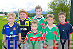Eoin Daly, Ivor Moynihan, Conor McCarthy, Adam O'Connor, Denis Walsh, Darragh Cronin and Paul O'Shea at the Kilcummin GAA fun day on Sunday..