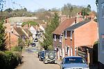 Kersey village, Suffolk, England