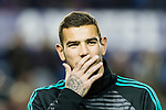 Theo Bernard François Hernandez Pi of Real Madrid in training prior to the La Liga 2017-18 match between Levante UD and Real Madrid at Estadio Ciutat de Valencia on 03 February 2018 in Valencia, Spain. Photo by Maria Jose Segovia Carmona / Power Sport Images