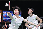 Kenta Kazuno &amp; Ayane Kurihara (JPN), <br /> AUGUST 13, 2016 - Badminton : <br /> Mixed Doubles Group Play <br /> at Riocentro - Pavilion 4 <br /> during the Rio 2016 Olympic Games in Rio de Janeiro, Brazil. <br /> (Photo by Sho Tamura/AFLO SPORT)