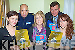 Triona Murphy IRD Duhallow, Community Garda Don Brennan, Olive O'Riordan Matt Talbot Centre, Cllr John Sheahan and Caroline Herlihy IRD Duhallow at the mis-use of drugs discussion in Teach I?osaga?in, Rathmore on Thursday night