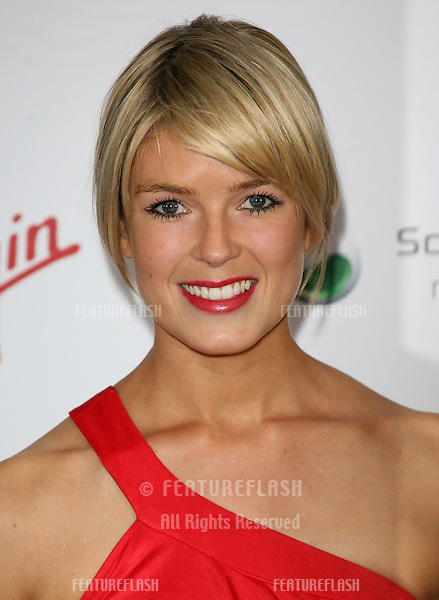 Isabella Calthorpe arriving for the Pre Wimbledon Party, Kensington Roof Gardens, London. 16/07/2011  Picture by: Alexandra Glen / Featureflash