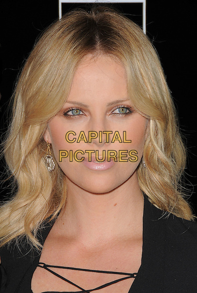 "CHARLIZE THERON .The Redwood Palms Pictures & Genart Screening of ""Battle in Seatte"" held at The Clarity Theater in Beverly Hills, California, USA. .September 22nd, 2008                                                                     headshot portrait .CAP/DVS.©Debbie VanStory/Capital Pictures."
