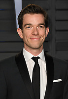 04 March 2018 - Los Angeles, California - John Mulaney. 2018 Vanity Fair Oscar Party hosted following the 90th Academy Awards held at the Wallis Annenberg Center for the Performing Arts. <br /> CAP/ADM/BT<br /> &copy;BT/ADM/Capital Pictures