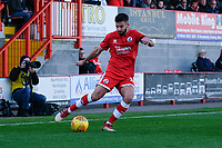George Francomb of Crawley Town <br /> during Crawley Town vs MK Dons, Sky Bet EFL League 2 Football at Broadfield Stadium on 3rd November 2018