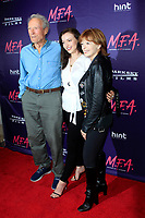"""LOS ANGELES - OCT 2:  Clint Eastwood, Francesca Eastwood, Frances Fisher at the """"M.F.A."""" Premiere at the The London West Hollywood on October 2, 2017 in West Hollywood, CA"""