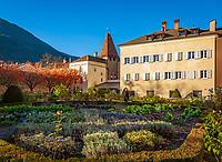 Italien, Suedtirol (Trentino-Alto Adige), Eisacktal, Brixen: Hofgarten | Italy, South Tyrol (Trentino-Alto Adige), Bressanone: park Hofgarten