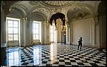 Castello di Rivoli. Immagine appartenente al progetto fotografico Vita da Museo di Marco Saroldi.