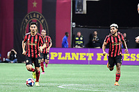 Atlanta, GA - Atlanta United advanced to the 2019 Eastern Conference Final of the MLS Cup Playoffs with a 2-0 win over the Philadelphia Union at Mercedes-Benz Stadium in front of a crowd of 41,507.