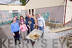 A new sensory garden for clients of the Eagle Lodge centre in Oakpark, Tralee has been designed and is being constructed by a team of volunteers and will be launched on June 22nd. Pictured were: Fergus Moriarty, Maura Carmody, Lawrence Kelly, Paddy Griffin (volunteer), Pat Doody, Margaret Moore (Centre Manager), Eugene O'Sullivan and Patrick Herlihy.