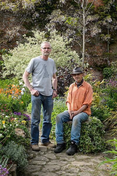 Mike Werkmeister & Head Gardener Mark Stainer