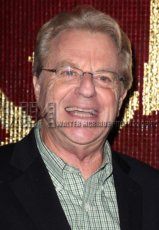 """Jerry Springer.attending the Michael Musto - 'Fork On The Left, Knife in the Back""""  Book Release Party at the Copacabana in New York City."""