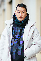 Richard Chai attends Day 4 of New York Fashion Week on Feb 16, 2015 (Photo by Hunter Abrams/Guest of a Guest)