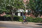 Biking.  Photo by Kevin Bain/Ole Miss Communications