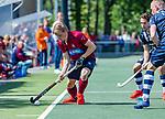 DEN HAAG -  Koen Bijen (HCKZ)   tijdens  de eerste Play out wedstrijd hoofdklasse heren ,  HDM-HCKZ (1-2) . . COPYRIGHT KOEN SUYK