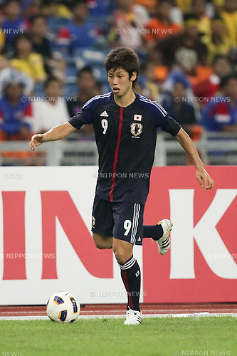 Yuya Osako (JPN),.FEBRUARY 22, 2012 - Football / Soccer :.2012 London Olympics Asian Qualifiers Final Round Group C match between U-23 Malaysia 0-4 U-23 Japan at National Stadium Bukit Jalil in Kuala Lumpur, Malaysia. (Photo by AFLO)