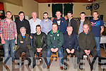 Listowel Gun Club Party: Members of Listowel attending the annual party at the Kingdom Bar, Listowel on Saturday night last. Front : Robert Downey, Jerry Walsh, Denis Harrs, Tim O'Sullivan & John O'Connor. Back : John Gleeson, PJ KElliher, Sean Gleeson, David Ryan, Paddy Madden, John Walsh, David Kozak & Christy Halpin.