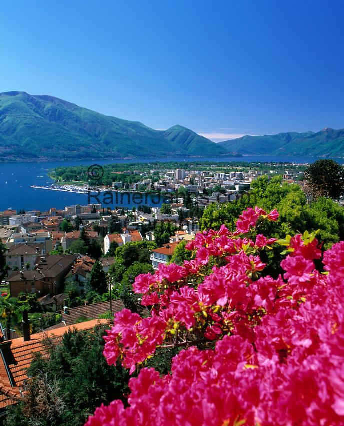 CHE, Schweiz, Tessin, Locarno am Lago Maggiore | CHE, Switzerland, Ticino, Locarno at Lago Maggiore