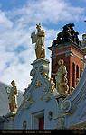 Moses, Civil Registry Renaissance Facade 1543, Burg Square, Bruges, Brugge, Belgium