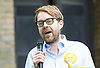 Vauxhall Hustings at St Mark's Church, Kennington, London, Great Britain <br /> 27th May 2017 <br /> <br /> <br /> George Turner<br /> Liberal Democrats candidate <br /> General Election 2017 <br /> <br /> Photograph by Elliott Franks <br /> Image licensed to Elliott Franks Photography Services Vauxhall Outdoor Hustings at St. Mark's Church, 337 Kennington Park Road, London SE11 4PW. A General Election hustings for the Vauxhall constituency has been called by Steve Coulson, the Vicar of St. Mark&rsquo;s Kennington, and Chair of the Friends of St. Mark&rsquo;s Churchyard. The outdoor event will take place at St Mark&rsquo;s on 18 April as part of the popular Oval Farmer&rsquo;s Market.
