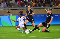 Belo Horizonte, Brazil - Wednesday, August 3, 2016: The USWNT go on to defeat New Zealand 2-0 in Group G play during the 2016 Olympics at Mineirão stadium.