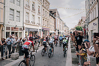 peloton leaving Troyes<br /> <br /> 104th Tour de France 2017<br /> Stage 7 - Troyes &rsaquo; Nuits-Saint-Georges (214km)