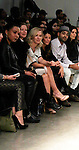 Jennie Garth (90210, Melrose Place) front row at Katty Xiomara Runway Show presented by RUSK during the fall/winter 2014 Nolcha Fashion Week - spotlighting independent designers on February 12, 2014 at Pier 59, New York City, New York.  (Photo by Sue Coflin/Max Photos)