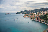 FRANCE, Villefranche sur Mer, View of the harbour with boats