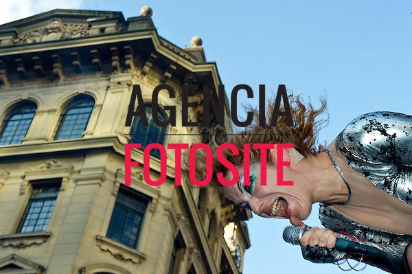 Foto: Marcelo Soubhia/ Ag Fotosite<br /> 3&ordf; Fashion Mob<br /> Show de Karina Buhr<br /> SP 12/12/2011