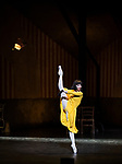 English National Ballet. Le Jeune Homme et la Mort. <br /> Coliseum Theatre, London, UK;<br /> Tamara Rojo;